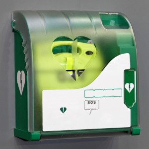 Automated External Defibrillator portable electronic life saver